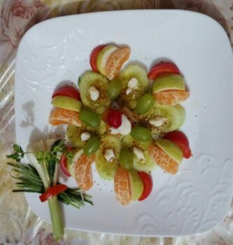 Veg Fruits Salad - Plattershare - Recipes, Food Stories And Food Enthusiasts