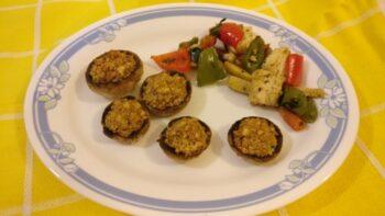 Stuffed Mushrooms - Plattershare - Recipes, Food Stories And Food Enthusiasts