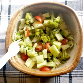 Broccoli Cucumber Salad - Plattershare - Recipes, Food Stories And Food Enthusiasts
