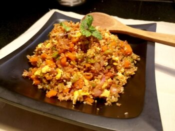 Paleo Cauliflower Fried Rice - Plattershare - Recipes, Food Stories And Food Enthusiasts