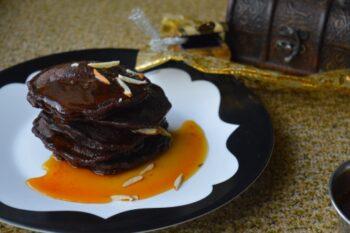 Chocolate Malpuas With Orange Caramel Sauce - Plattershare - Recipes, Food Stories And Food Enthusiasts