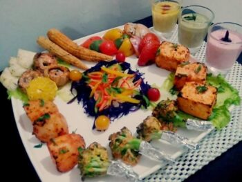 Tandoori Veg Platter - Plattershare - Recipes, Food Stories And Food Enthusiasts