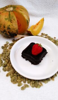 Pumpkin Seed Flour Brownie - Plattershare - Recipes, Food Stories And Food Enthusiasts