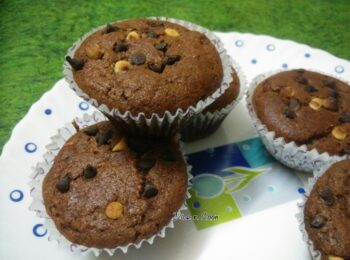 Triple Delight Banana Cup Cakes - Plattershare - Recipes, Food Stories And Food Enthusiasts