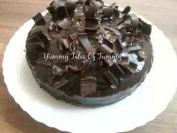 Ragi, Wholewheat Chocolate Cake - Plattershare - Recipes, Food Stories And Food Enthusiasts