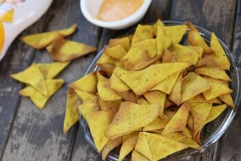 Homemade Nachos Chips - Plattershare - Recipes, Food Stories And Food Enthusiasts