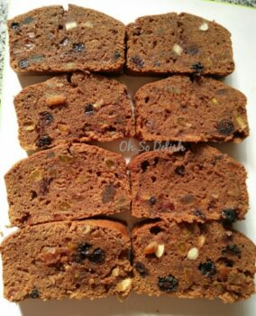 Chocolate Rich Fruit Cake - Plattershare - Recipes, Food Stories And Food Enthusiasts