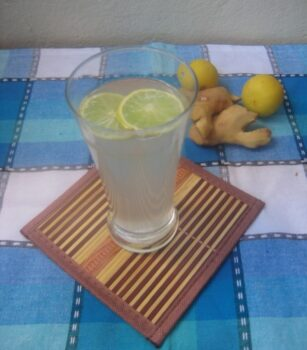 Sparkling Ginger Lemonade - Plattershare - Recipes, Food Stories And Food Enthusiasts