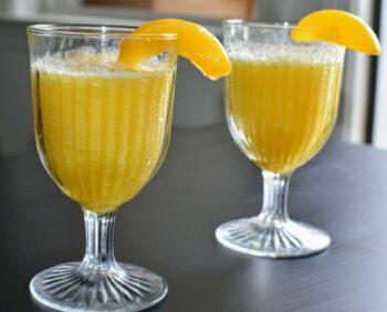 Peach Bellini Mocktail - Plattershare - Recipes, Food Stories And Food Enthusiasts