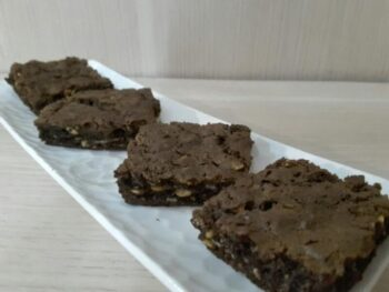 Granola Brownie Squares - Plattershare - Recipes, Food Stories And Food Enthusiasts