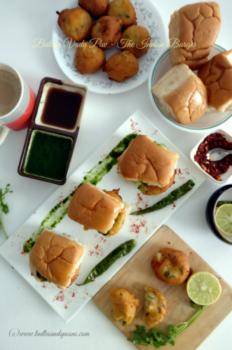 Batata Vada Pav, The Indian Burger - Plattershare - Recipes, Food Stories And Food Enthusiasts