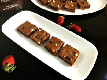 Double Chocolate Brownie Bars - Plattershare - Recipes, Food Stories And Food Enthusiasts