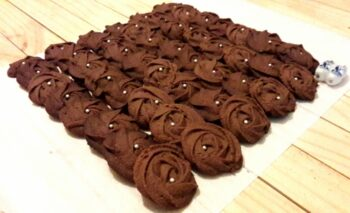 Eggless Wheat Chocolate Cookies - Plattershare - Recipes, Food Stories And Food Enthusiasts