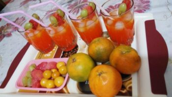 Mixed Fruits Mocktail - Plattershare - Recipes, Food Stories And Food Enthusiasts