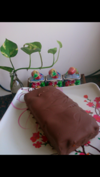 Eggless Twix Cake - Plattershare - Recipes, Food Stories And Food Enthusiasts