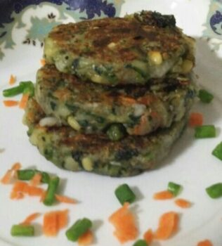 Quinoa Palak Kebab - Plattershare - Recipes, Food Stories And Food Enthusiasts