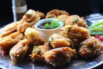 Pakodas On Sticks - Plattershare - Recipes, Food Stories And Food Enthusiasts