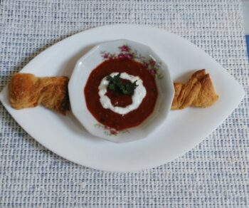 Tomato Garlic Soup - Plattershare - Recipes, Food Stories And Food Enthusiasts