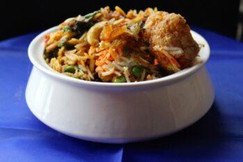 Hyderabadi Veg Dum Biryani - Plattershare - Recipes, Food Stories And Food Enthusiasts