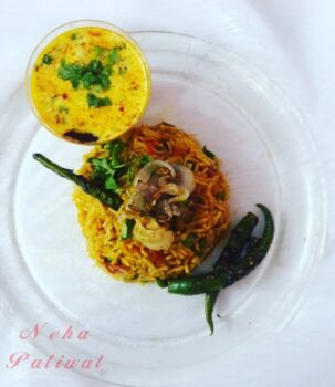Tomato With Caramalized Onion Biryani - Plattershare - Recipes, Food Stories And Food Enthusiasts