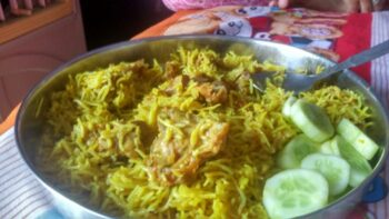 Pressure Cooker Or Quick And Easy Chicken Biryani - Plattershare - Recipes, Food Stories And Food Enthusiasts