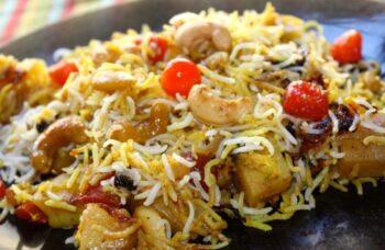 Nawabi Tarkari Biryani - Plattershare - Recipes, Food Stories And Food Enthusiasts
