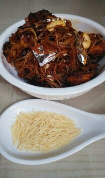 Vermicelli Biryani With Jackfruit - Plattershare - Recipes, Food Stories And Food Enthusiasts