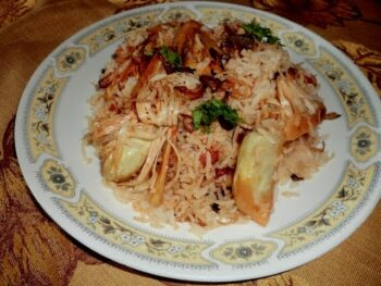 Kathhal (Jackfruit) Ki Biryani With Brown Rice - Plattershare - Recipes, Food Stories And Food Enthusiasts