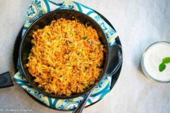 Traditional Dum Style Mushroom Biryani (Awadhi Cuisine) - Plattershare - Recipes, Food Stories And Food Enthusiasts