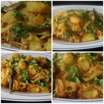 Cabbage Potato Fry With A Twist - Plattershare - Recipes, Food Stories And Food Enthusiasts
