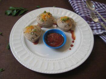 Multigrain Idli Muffins - Plattershare - Recipes, Food Stories And Food Enthusiasts