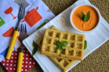 Baked Multi Millet Waffles - Plattershare - Recipes, Food Stories And Food Enthusiasts