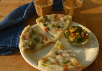 Steamed Veggie Appams - Plattershare - Recipes, Food Stories And Food Enthusiasts