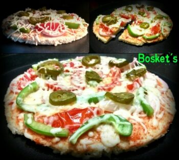 Multi - Millet Thatte Idli Pizza - Plattershare - Recipes, Food Stories And Food Enthusiasts
