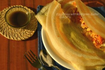Egg Dosa With Multi Millet Batter - Plattershare - Recipes, Food Stories And Food Enthusiasts