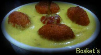 Medu Vada In Rajasthani Kadhi - Plattershare - Recipes, Food Stories And Food Enthusiasts