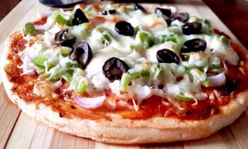 Gluten Free Pizza With Lentil Crust - Plattershare - Recipes, Food Stories And Food Enthusiasts