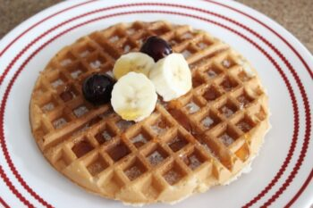 Eggless Waffle - Plattershare - Recipes, Food Stories And Food Enthusiasts