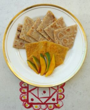 Stuffed Mango Parantha - Plattershare - Recipes, Food Stories And Food Enthusiasts