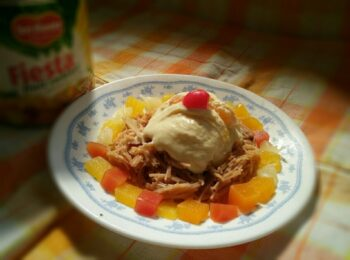 Vermicelli With Mixed Fruit Cottage Cheese Ice Cream - Plattershare - Recipes, Food Stories And Food Enthusiasts