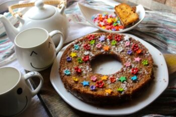 Banana Sponge Ring Cake - Plattershare - Recipes, Food Stories And Food Enthusiasts