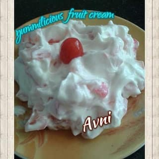 Fruit Cream - Plattershare - Recipes, Food Stories And Food Enthusiasts