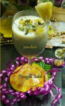 Pineapple Coconut Rabri - Plattershare - Recipes, Food Stories And Food Enthusiasts