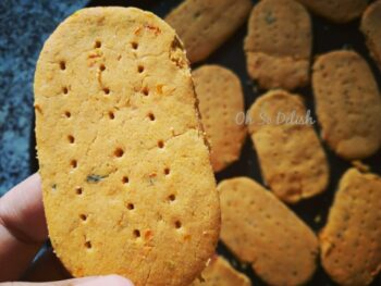 Tangy Tomato Crackers - Plattershare - Recipes, Food Stories And Food Enthusiasts