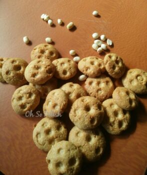 Peanut Jagerry Coconut Cookies - Plattershare - Recipes, Food Stories And Food Enthusiasts