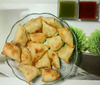 Baked Mini Samosas - Plattershare - Recipes, Food Stories And Food Enthusiasts