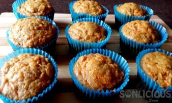 Whole Wheat Carrot Date Muffins - Plattershare - Recipes, Food Stories And Food Enthusiasts