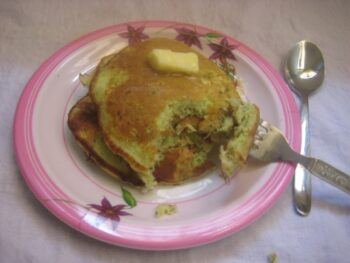 Zucchini Cheese Pancake - Plattershare - Recipes, Food Stories And Food Enthusiasts