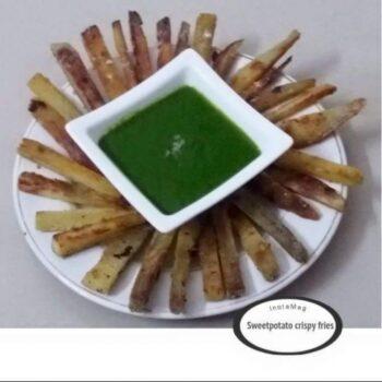 Sweetpotato Crispy Fries - Plattershare - Recipes, Food Stories And Food Enthusiasts
