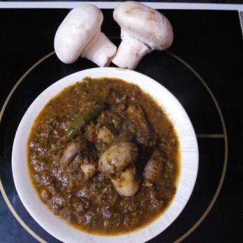 Masala Mushroom - Plattershare - Recipes, Food Stories And Food Enthusiasts
